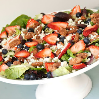 Simple Summer Berry Salad