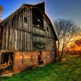 Old Wood by DE Grabenstein - Buildings & Architecture Other Exteriors ( nebraska )