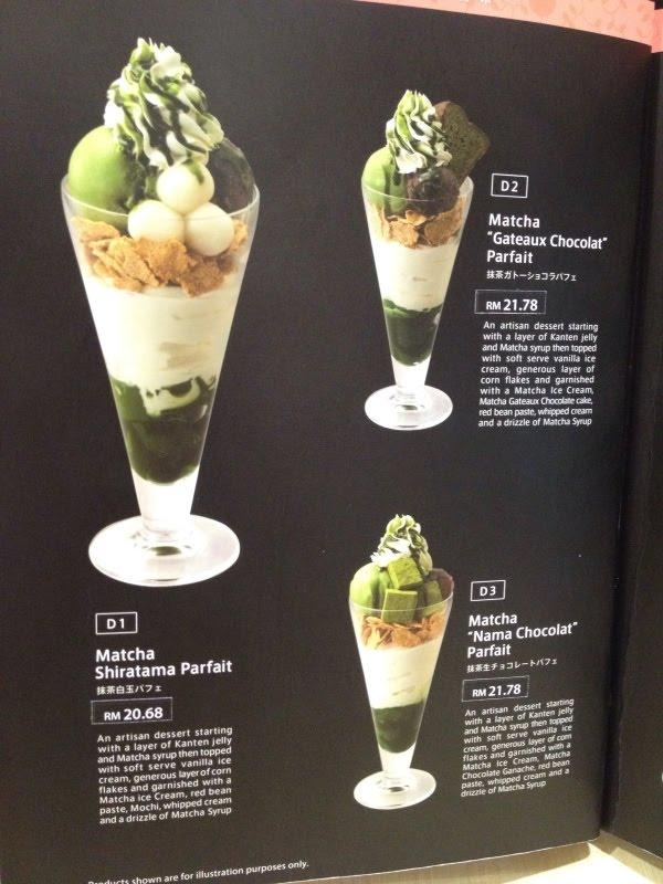 Green Lotus Cafe Menu