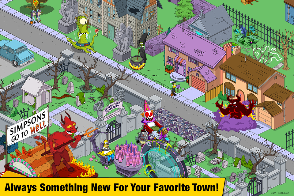 The Simpsons™: Tapped Out Screenshot 3