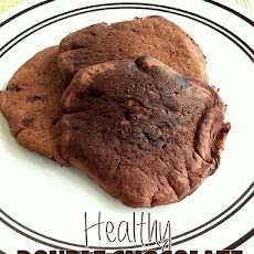 Healthy Double Chocolate Pancakes
