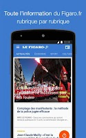 Screenshot of Le Figaro.fr, l'info en direct