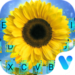 Happy Sunflower Free Emoji Theme Icon