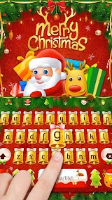 Merry Christmas & Santa Claus New Year Keyboard Apk Download Free for PC, smart TV