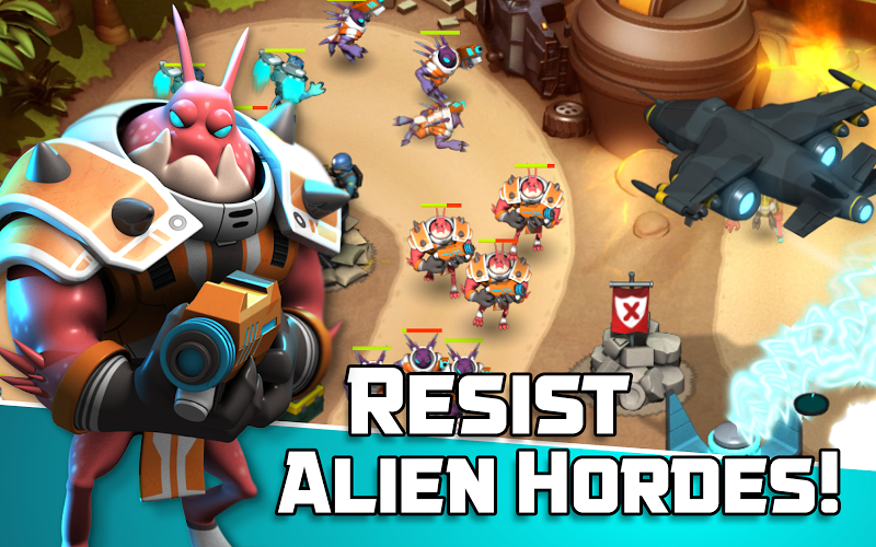 Alien Creeps TD - Epic tower defense Screenshot 7