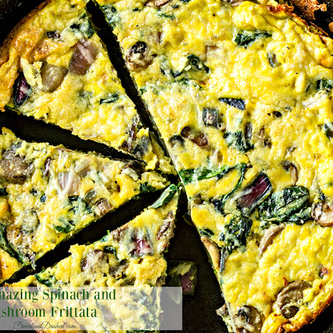 An Amazing Spinach and Mushroom Frittata