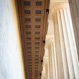 The Parthenon by Mary Phelps - Buildings & Architecture Public & Historical ( nashville, tennessee, parthenon, architecture, canon )