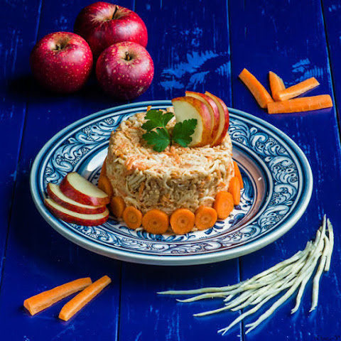 Carrot Celery And Apple Salad