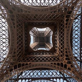 Eiffel Tower 2, Paris, France by Horizon Photo - Buildings & Architecture Architectural Detail ( eiffel tower, paris, france )