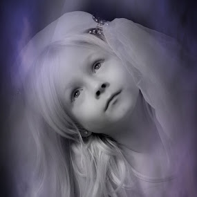 Princess by Photographyby Tanja - Babies & Children Child Portraits ( princess, wedding, dreaming child )