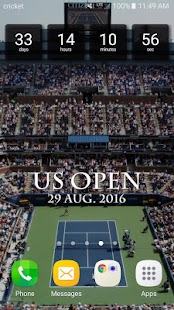 Countdown for US Open- screenshot thumbnail