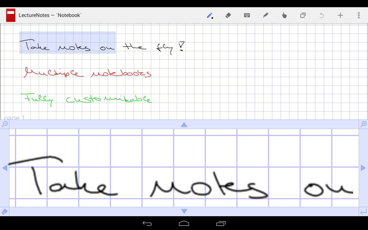 LectureNotes Screenshot 6
