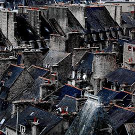 by Alain Labbe Alain - City,  Street & Park  Vistas