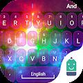 Free Rainbow Light Typany Theme APK for Windows 8