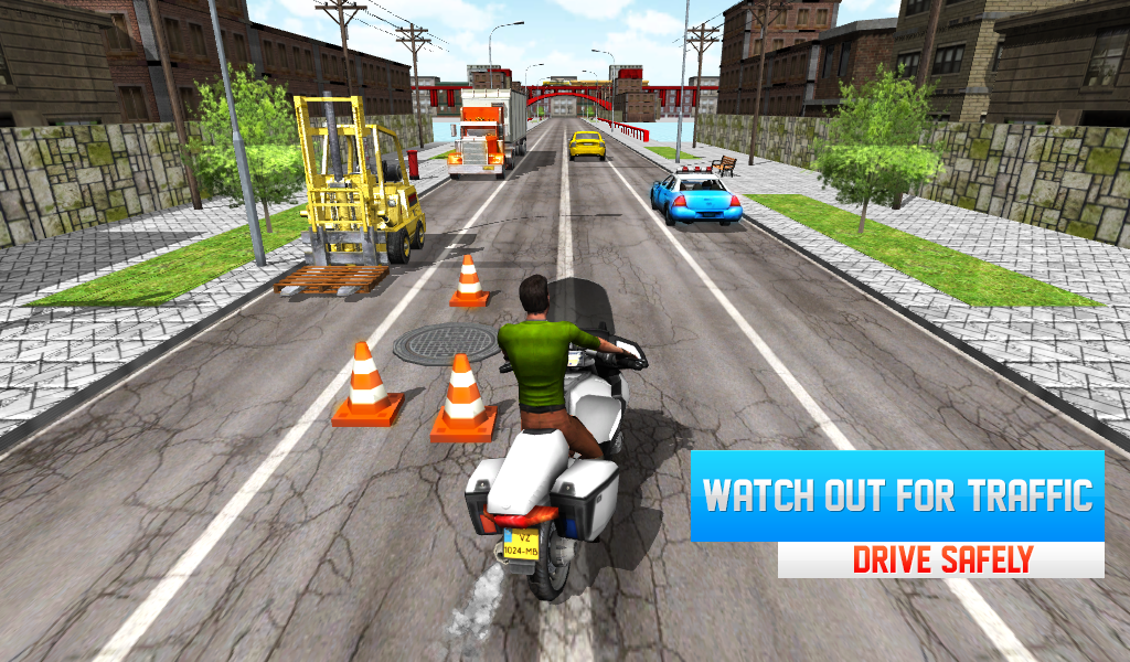 Moto Race 3D android spiele download