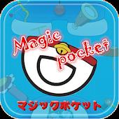Theme Magic Pocket Blue cat