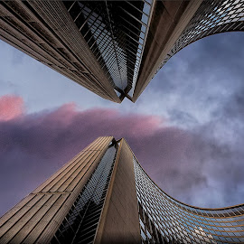The Big TO by Jerry Kambeitz - Buildings & Architecture Public & Historical ( sky, canada, toronto, cityhall, ontario )