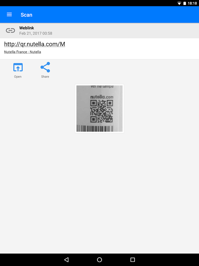 QR & Barcode Scanner PRO Screenshot 11