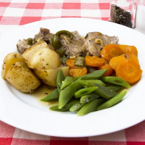 Simply Seasoned Pork And Vegetable Stew