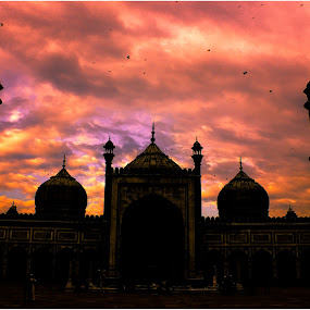 Jama masjid by Baidyanath Arya - Buildings & Architecture Places of Worship