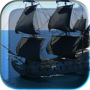 Black Pearl Ship Live Wallpap