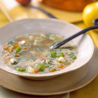 Low-Carb Chicken Vegetable Soup