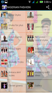 Nigeria fashion and style - screenshot