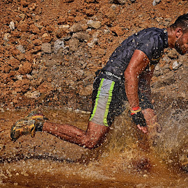 The Mudday Water Obstacle by Marco Bertamé - Sports & Fitness Motorsports