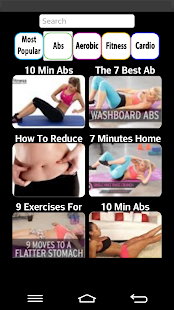 Health and Fitness Workout - screenshot