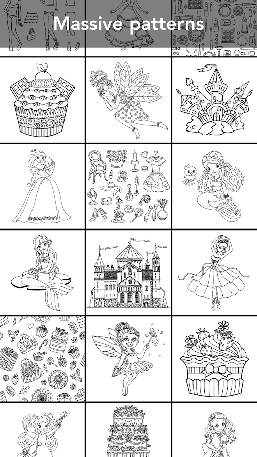Princess coloring book Screenshot 5