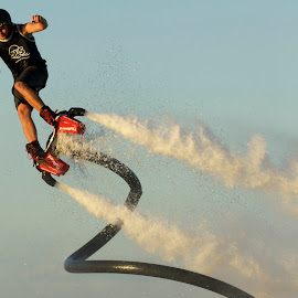 FLYBOARDING by Jeannette Thalmann-Bendeth - Sports & Fitness Watersports ( sws, sparrow lake, flyboard )