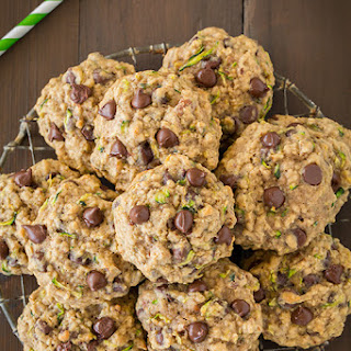 Zucchini-Oat Chocolate Chip Cookies