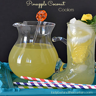 Pineapple Coconut Coolers
