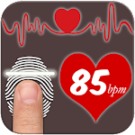 Finger Heart Beat Rate Prank Icon