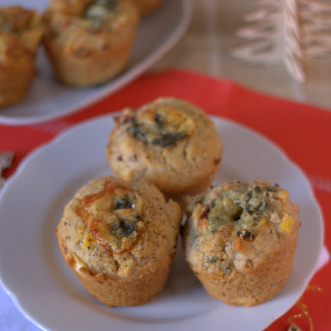 Turkey, Stilton & Cranberry Christmas Brunch Muffins