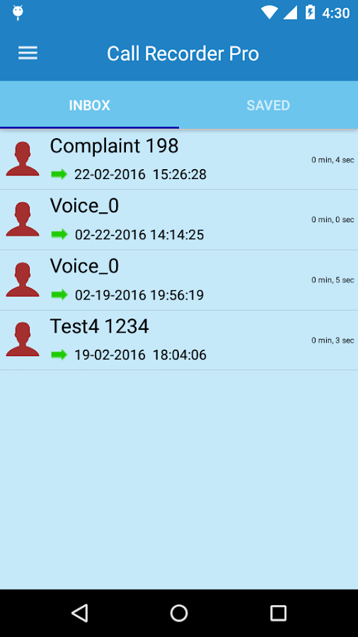 Call Recorder Pro Screenshot 5