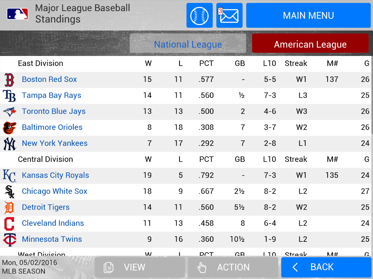 MLB Manager 2016 Screenshot 9