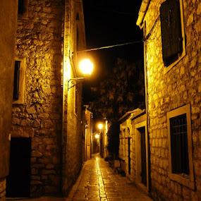 Stari Grad by Čedna Dadić - City,  Street & Park  Street Scenes