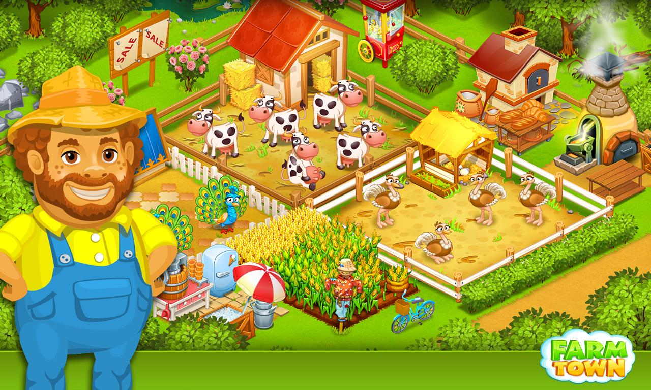 Farm Town:Happy City Day Story Screenshot 6