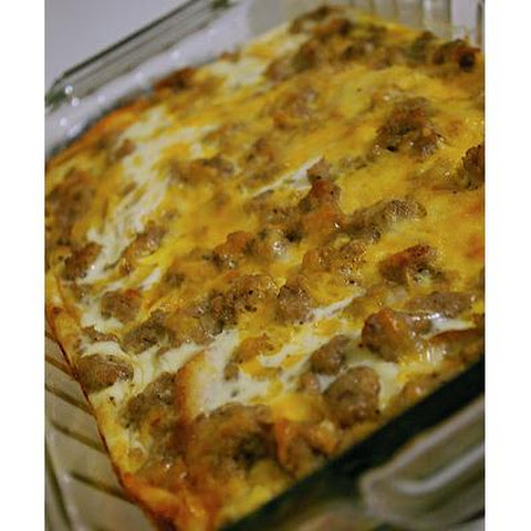 Egg Cheese Breakfast Casserole