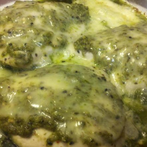 Baked Pesto Chicken, Low Carb