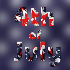 4th of July by Dipali S - Typography Words ( forth, graphic, seasonal, freedom, america, illustration, states, usa, patriot, pride, liberty, veteran, american, event, vector, july, 4th, democracy, celebrate, united, memorial, symbol, national, art, white, star, us, patriotism, stripe, nation, country, fourth, sign, holiday, election, red, flag, pattern, blue, patriotic, democratic, background, wave, independence, day, celebration, design )