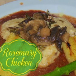 Pan Seared Rosemary & Parmesan Chicken