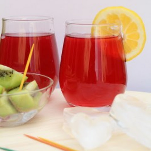 Iced Fusion Tea | A Mix of Fruit Tea and Tender Coconut Water