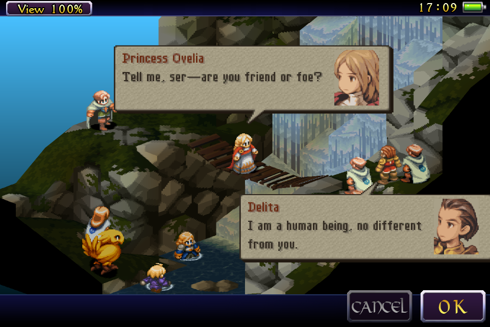FINAL FANTASY TACTICS : WotL Screenshot 1