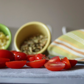 Tomato corn lentels by Kathleen Waterman - Food & Drink Ingredients