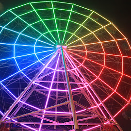 Ferris Wheel Batu by Renanta  Putra - Novices Only Objects & Still Life ( amazing, colourful, ferris wheel )