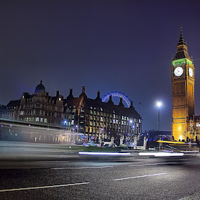 Touring london 2013 by Damien Brearley - Landscapes Starscapes ( swat photography, london eye, london tour, royal, night, big ben )