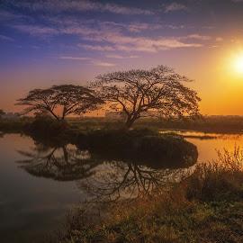by Pujimawan Go Fuk - Landscapes Sunsets & Sunrises