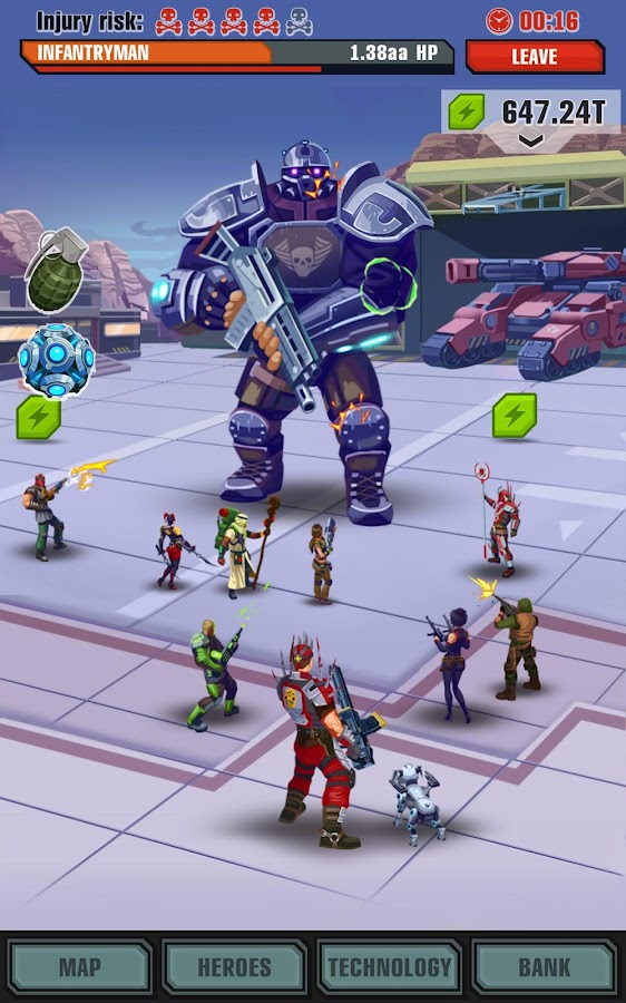 Evolution: Heroes of Utopia Screenshot 13